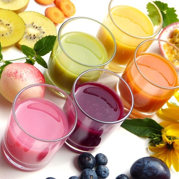 Jus de légumes revitalisant