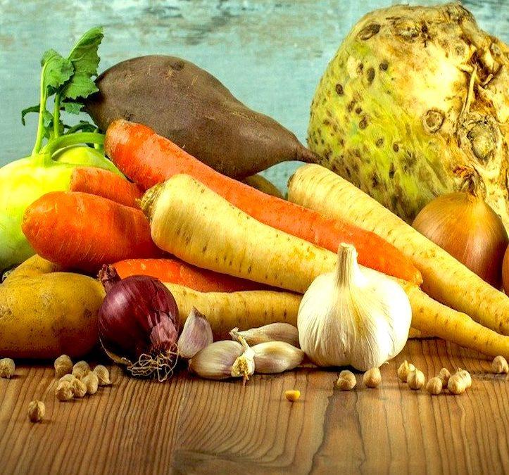 Légumes d'hiver à l'Indienne